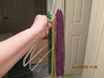 Mardi Gras Bead Necklaces -- Green, Gold, & Purple in Kingwood, Texas