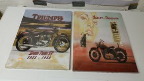 2 canvas pictures with motorcycles in Ramstein, Germany