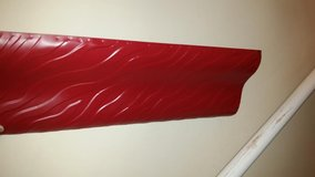 Red Wall Metal Shelf in Fort Campbell, Kentucky