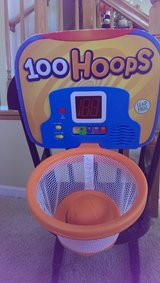 Leapfrog indoor basketball hoop set in Shorewood, Illinois