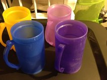 colorful mugs -UNBREAKABLE! in Travis AFB, California