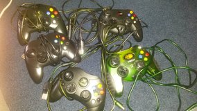 original Xbox wired controllers in Fort Lewis, Washington