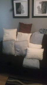 pillows and Throw in Beaufort, South Carolina