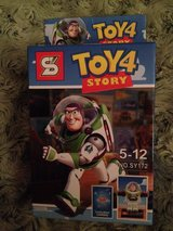 Toy Story 4 figure & Card in Okinawa, Japan