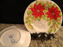 Christmas Plates in Naperville, Illinois