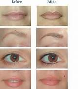 Painless eyes / lips eye brows tattooed in Camp Lejeune, North Carolina