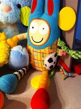 Plush Bunny,Lullaby Monkey w Lights,  & Alex Jr Texture Toy in Chicago, Illinois