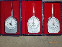 Five ARPO Tension Gauges, Made in France in Aurora, Illinois