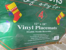 Set Of 4 Christmas Placemats - New In Package in Kingwood, Texas