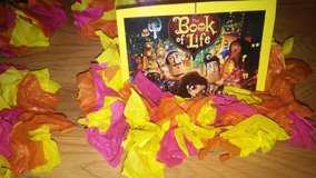 Book of Life Party decor in The Woodlands, Texas