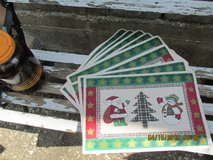 Matching Set Of 8 Christmas Placemats - NIP in Houston, Texas