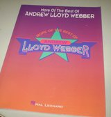 More of the Best of Andrew Lloyd Webber - Easy Piano Lesson Sheet Music Book in Kingwood, Texas