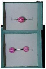 PINK TONGUE RING BAR BELL in Fairfield, California