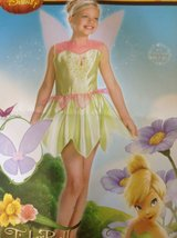 NEW Disney TINKER BELL green dress-up costume dress and wings in Lockport, Illinois