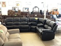 Brand New Quad Reclining Sectional in Camp Lejeune, North Carolina