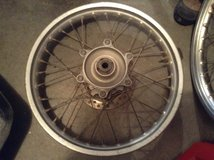 Honda XR 250L Rims (front and back) with sprocket in Fort Riley, Kansas
