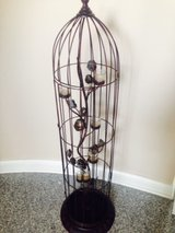 bird cage candle holder in Naperville, Illinois
