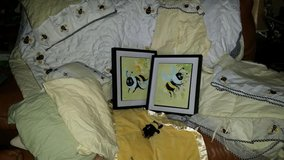 Bumble Bee 12 Piece  Crib Comforter Set in Fort Campbell, Kentucky