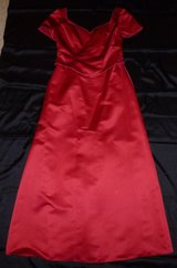 Red Wine Prom Dress, Evening Gown, Bridesmaid Dress in Spring, Texas