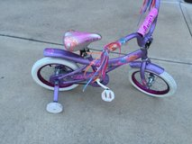 Little Girl's Bike or Bicycle with training wheels in Columbus, Georgia