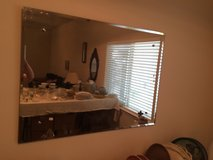 REDUCED Beveled Mirror Large in Baytown, Texas
