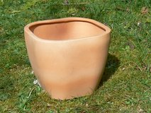 "Small Square Clay Pot 7 1/2"" in Ramstein, Germany"