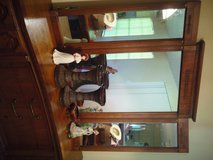 Antique Solid Wood dreserr with Mirror in Kingwood, Texas