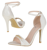 New - White Open Toe Sandals in Ramstein, Germany