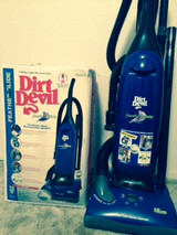 DIRT DEVIL FEATHER GLIDE VACUUM CLEANER in Baytown, Texas