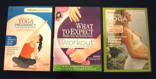 3 Prenatal and Pregnancy Workout DVDs in Lockport, Illinois