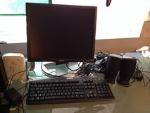 DELL 1704FPTt (monitor, keyboard and 2 speakers) in Naperville, Illinois