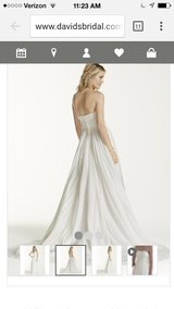 Chiffon Soft Gown with Beaded Lace on Empire Waist in Clarksville, Tennessee