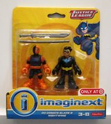 Fisher Price Imaginext Justice League DC Comics Slade & Nightwing Rare in Houston, Texas
