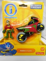 Fisher Price Imaginext DC Super Friends Robin & Cycle in Houston, Texas