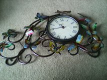 Wall Clock Beautiful Butterflies  & Dragonflies in Quantico, Virginia