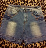 Denim stretch shorts in Warner Robins, Georgia