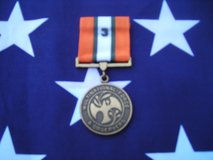 "Original U.S. Multi National & Observers Medal with ""3"" Tour Device in Camp Lejeune, North Carolina"