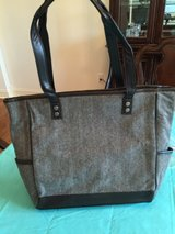 """Thirty-One gifts """"Cindy Tote"""" in brown herringbone in Naperville, Illinois"""