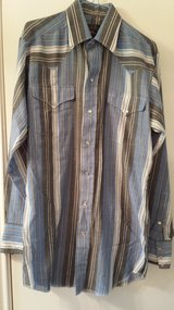 Panhandle Slim Pearl-Button Shirt, Small in Houston, Texas