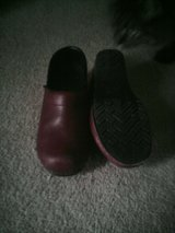 Dansko brown leather shoes in Quantico, Virginia