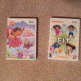 Wii Dora and Nickelodeon Games in Naperville, Illinois