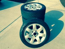 rims with tires in Bartlett, Illinois
