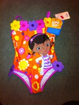 NWT Girls Doc McStuff Swimsuit  sz 4 in Glendale Heights, Illinois