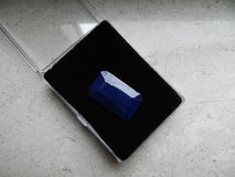 69.95ct emerald cut blue sapphire gla certified value $1700 in Los Angeles, California