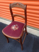 Antique Walnut Side Chairs in Cherry Point, North Carolina