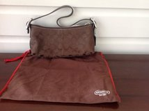 Authentic Coach Purse (Brown) in St. Charles, Illinois