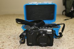 Canon G12 Power Shot w/ Pelican 1050 case blue in Fairfax, Virginia