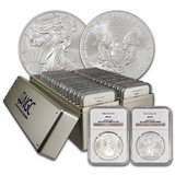 Complete NGC MS 69 Silver Eagle Set 1986-2017 in Clarksville, Tennessee