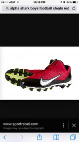 Youth football cleats in St. Charles, Illinois