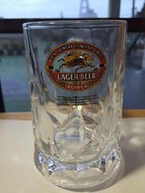 Kirin Lager Beer Mug in Okinawa, Japan